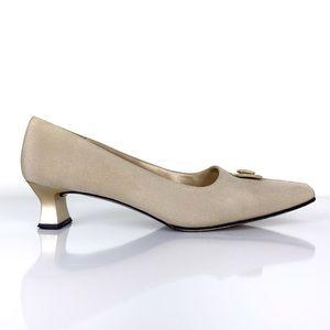 Stuart Weitzman Women's Vintage Square Toe Heels
